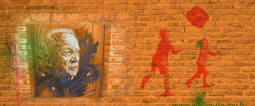 stage street art