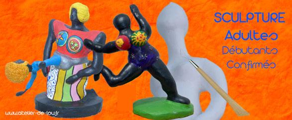 Cours de sculpture pour les rémois