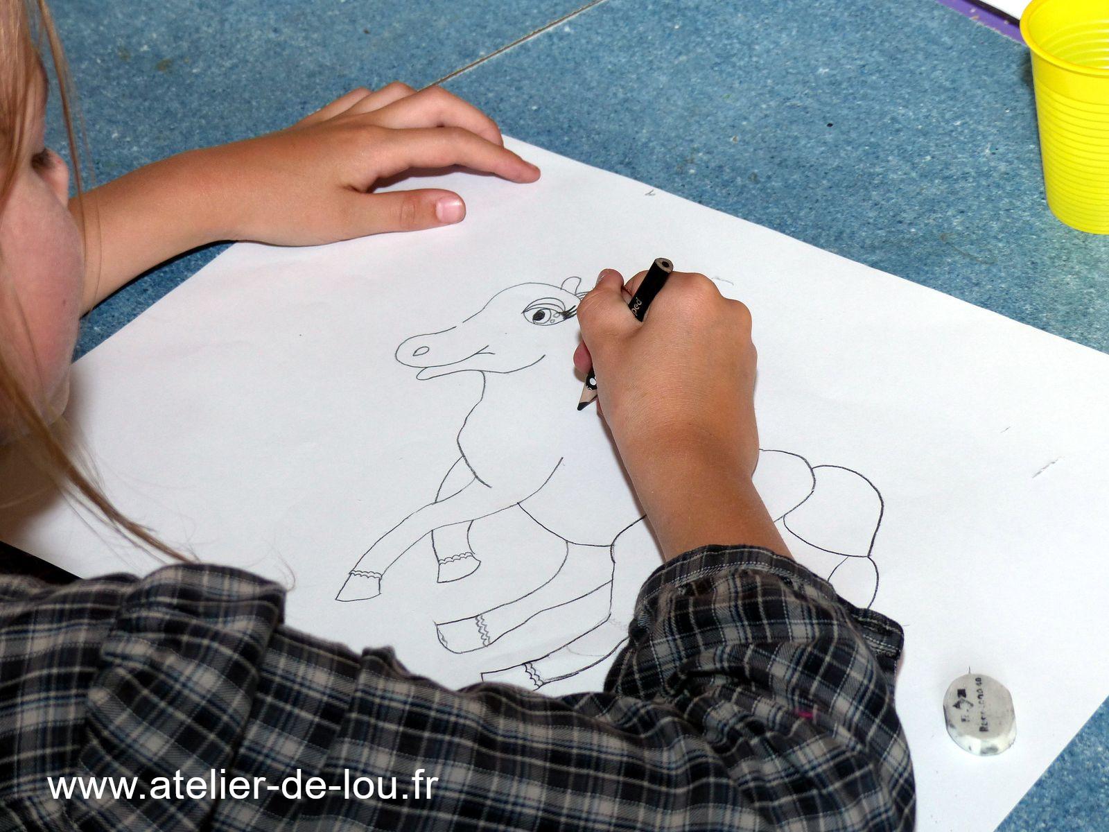 cours dessin enfant